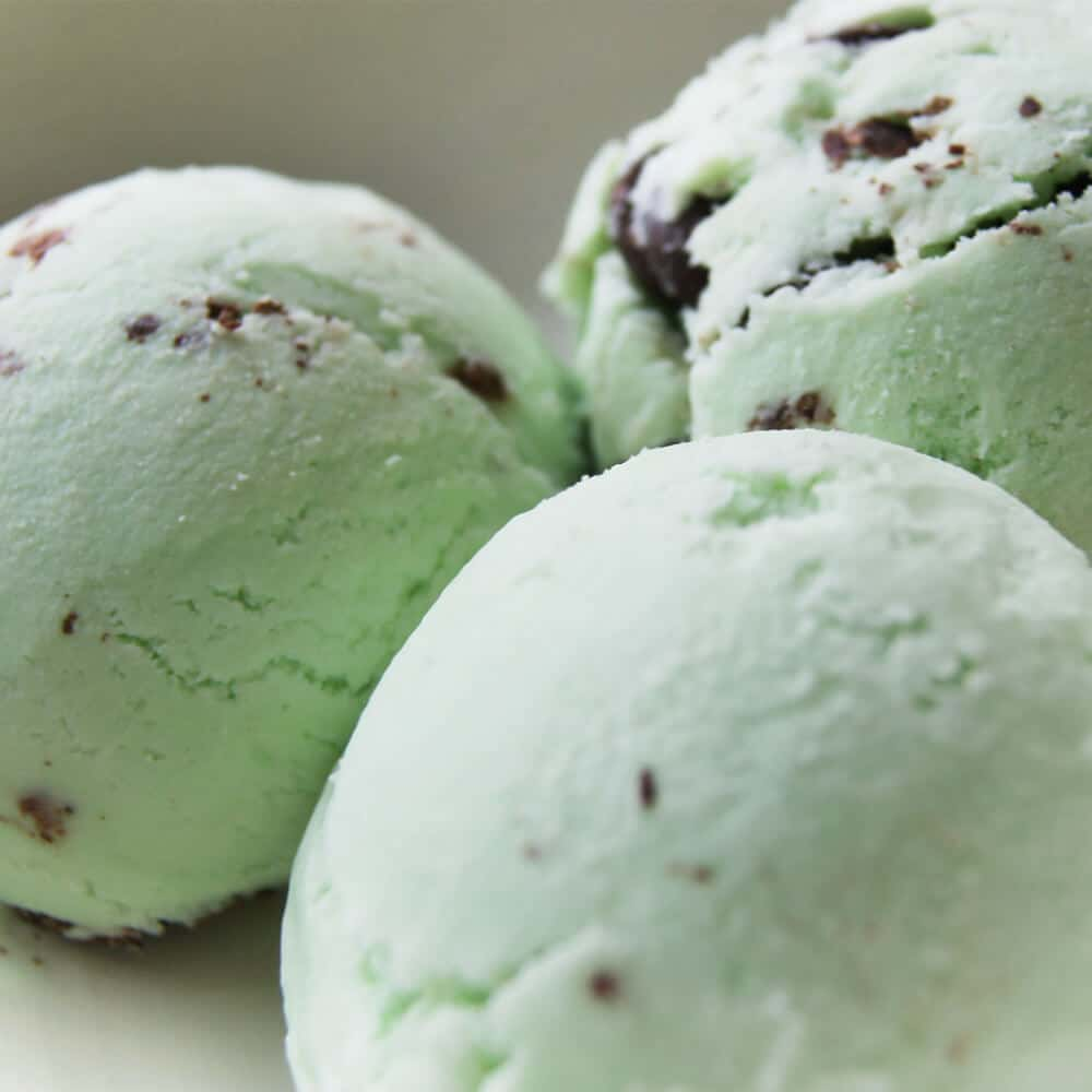 Easy Ice Cream – Mint Chocolate