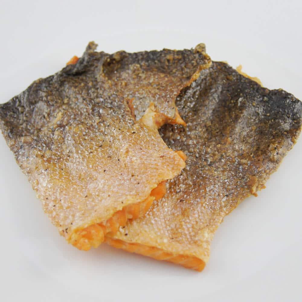 Crispy Salmon Skin Chips